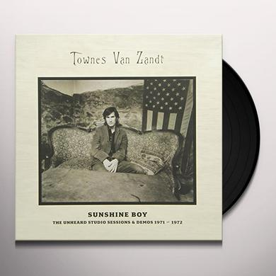 Townes Van Zandt SUNSHINE BOY: THE UNHEARD STUDIO SESSIONS & DEMOS (Vinyl)