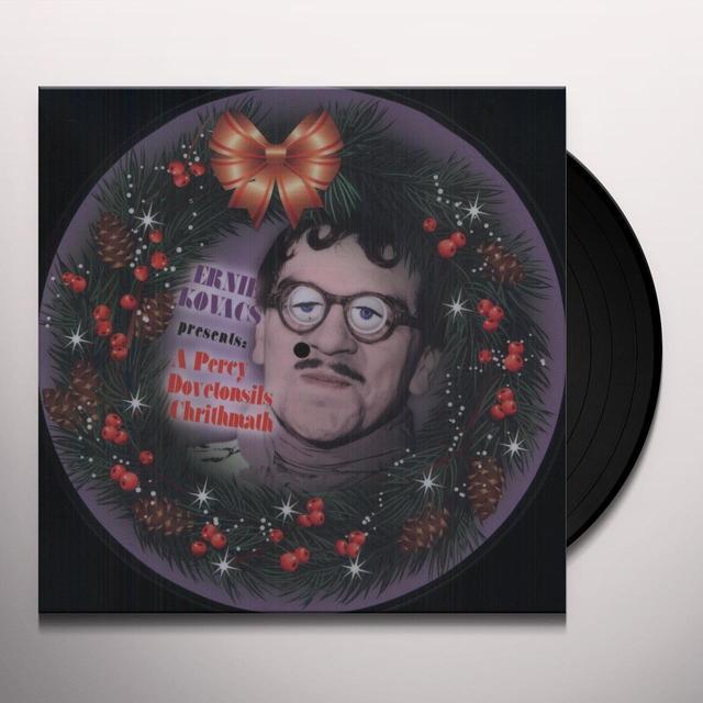 Ernie Kovacs PRESENTS A PERCY DOVETONSILS CHRITHMATH Vinyl Record - Picture Disc