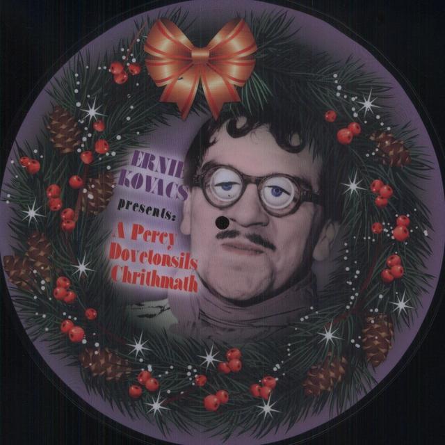 Ernie Kovacs PRESENTS A PERCY DOVETONSILS CHRITHMATH Vinyl Record