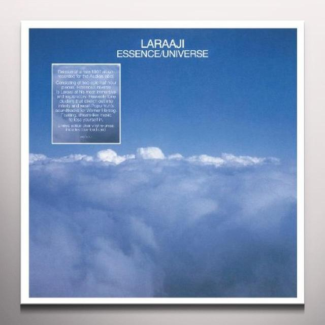 Laraaji ESSENCE/UNIVERSE Vinyl Record - Clear Vinyl, Digital Download Included