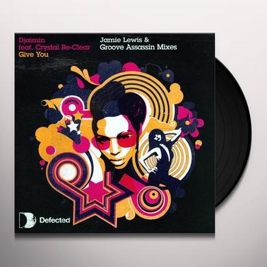 Djaimin GIVE YOU Vinyl Record - UK Import