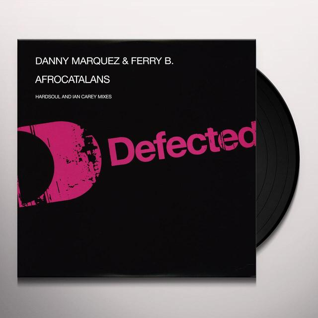 Danny Marquez & Ferry B AFRO CATALAN Vinyl Record - UK Import