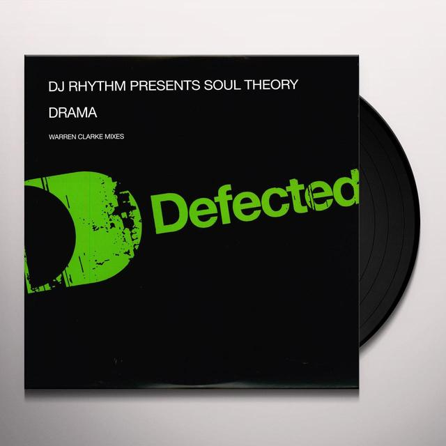 Dj Rhythm Pres Soul Theory DRAMA Vinyl Record - UK Import