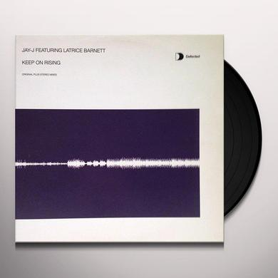 Jay J KEEP ON RISING Vinyl Record - UK Import
