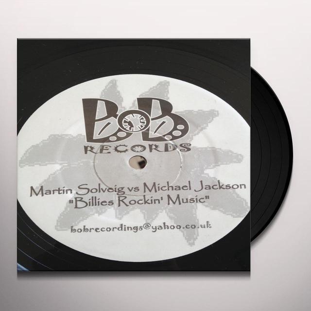 Martin Solveig ROCKIN MUSIC Vinyl Record - UK Import