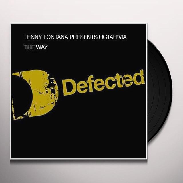 Lenny Presents Octah'Via Fontana WAY Vinyl Record - UK Import