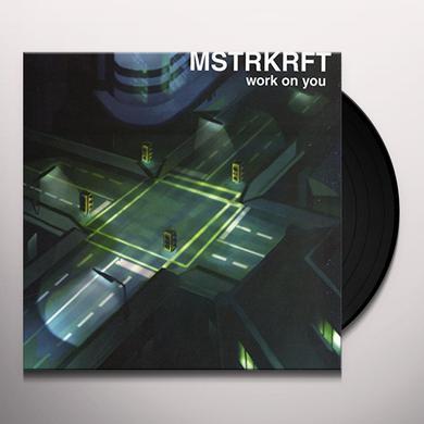 Mstrkrft WORK ON YOU Vinyl Record