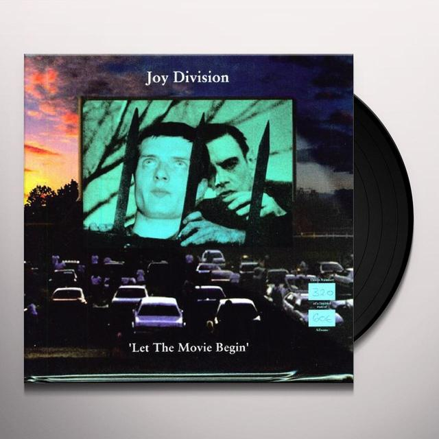 Joy Division LET THE MOVIE BEGIN Vinyl Record
