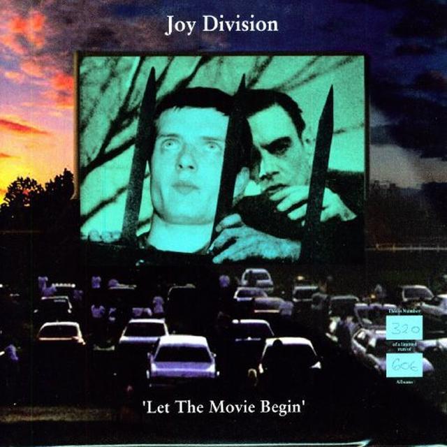 Joy Division LET THE MOV RED IE BEGIN Vinyl Record - UK Import