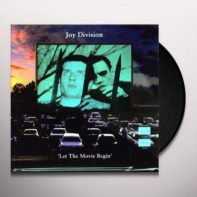 Joy Division LET THE MOV RED IE BEGIN Vinyl Record - UK Import