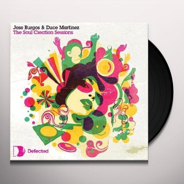 Burgosjose SOUL CREATION SESSIONS (REMIX) Vinyl Record - UK Import