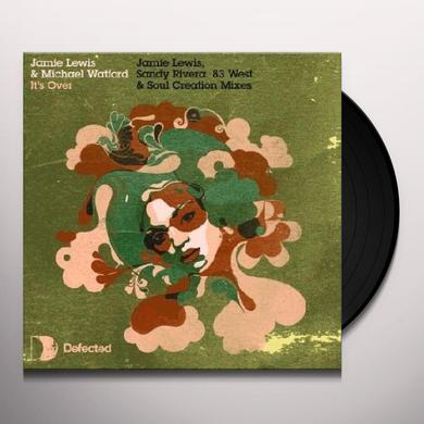 Jamie Lewis IT'S OVER Vinyl Record - UK Release