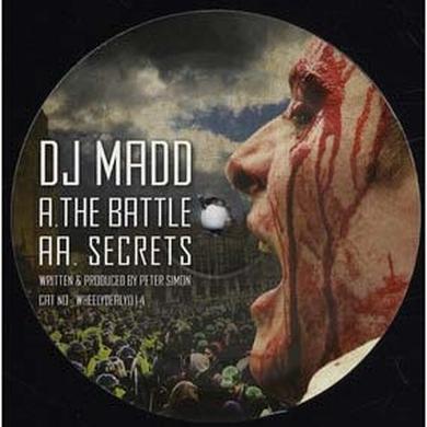 Dj Madd BATTLE Vinyl Record - Sweden Release