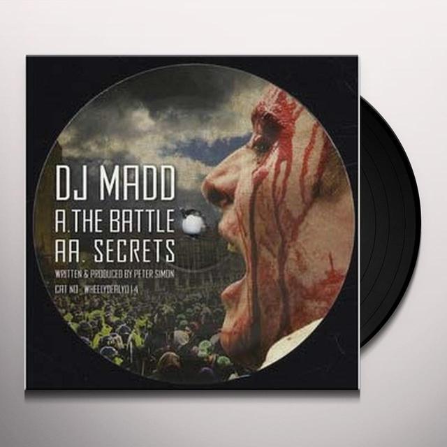 Dj Madd BATTLE Vinyl Record - Sweden Import