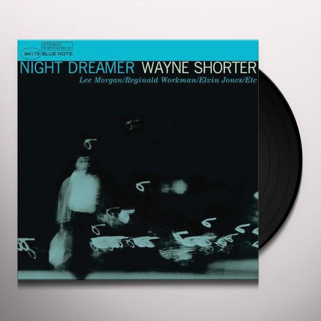 Wayne Shorter NIGHT DREAMER Vinyl Record - Limited Edition, 180 Gram Pressing
