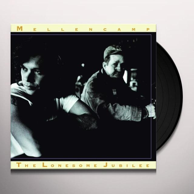 John Mellencamp LONESOME JUBILEE Vinyl Record - Holland Release