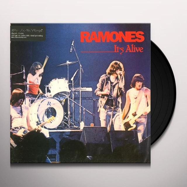 Ramones IT'S ALIVE Vinyl Record - 180 Gram Pressing