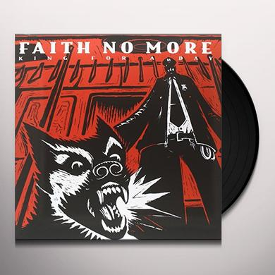 Faith No More KING FOR A DAY FOOL FOR A LIFETIME Vinyl Record