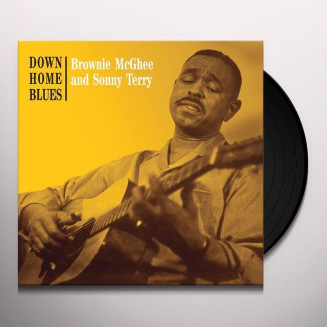 Brownie Mcghee / Sonny Terry DOWN HOME BLUES Vinyl Record - Limited Edition