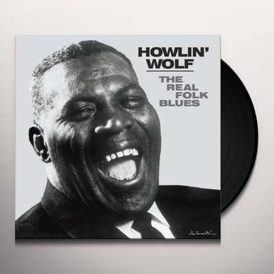 Howlin Wolf REAL FOLK BLUES Vinyl Record - Limited Edition