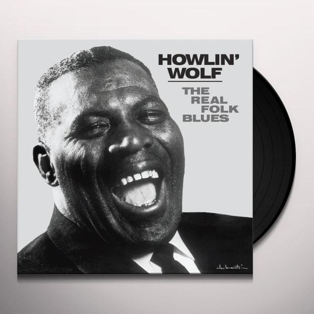 Howlin Wolf REAL FOLK BLUES Vinyl Record - Limited Edition