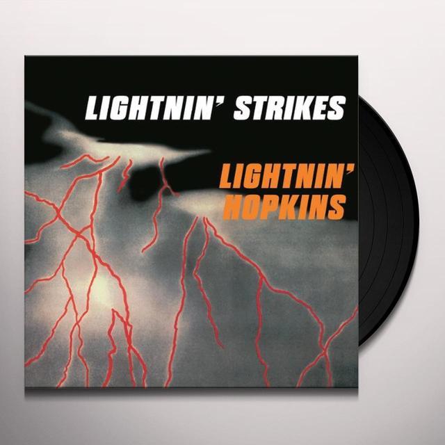 Lightnin' Hopkins on Spotify LIGHTNIN STRIKES Vinyl Record