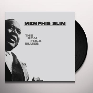 Memphis Slim REAL FOLK BLUES Vinyl Record - Limited Edition