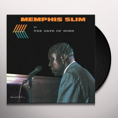 MEMPHIS SLIM AT THE GATE OF HORN Vinyl Record - Limited Edition