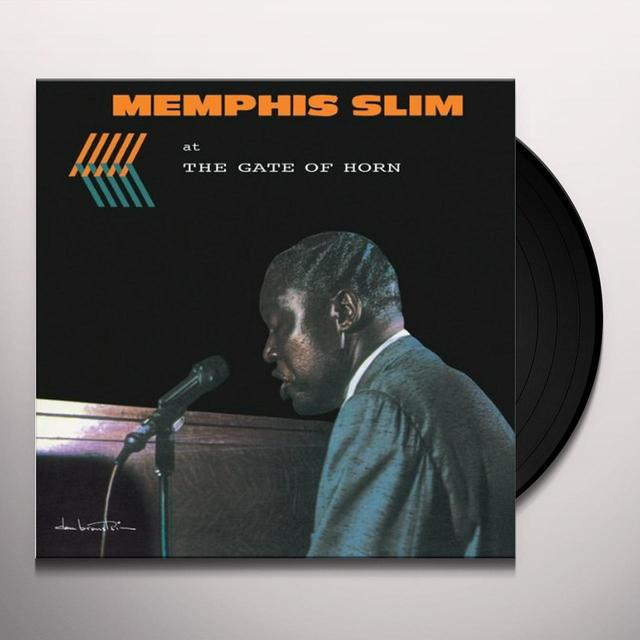 MEMPHIS SLIM AT THE GATE OF HORN Vinyl Record