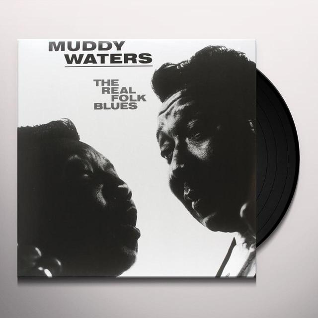 Muddy Waters REAL FOLK BLUES Vinyl Record - Limited Edition