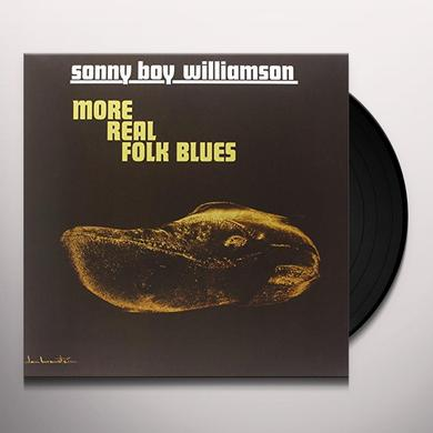 Sonny Williamson MORE REAL FOLK BLUES Vinyl Record