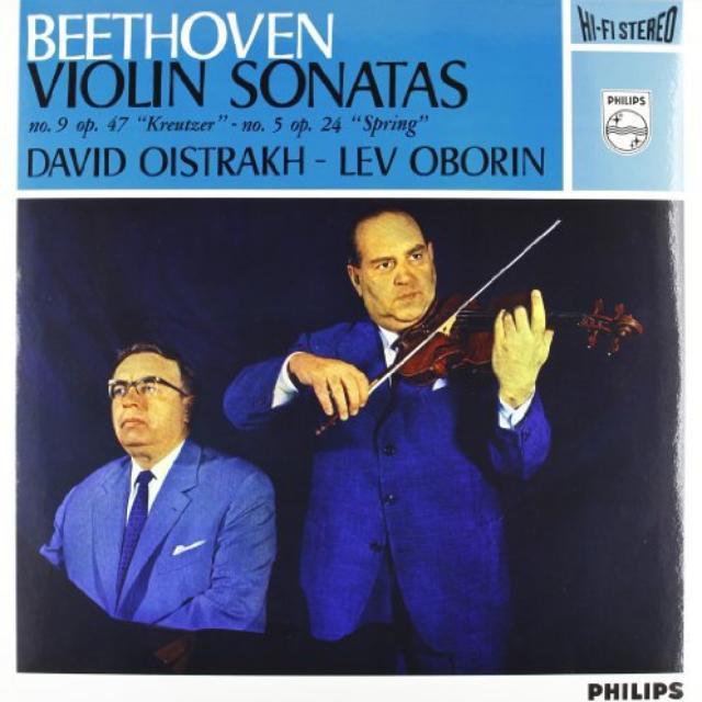 Beethoven / Oborin / Oistrach