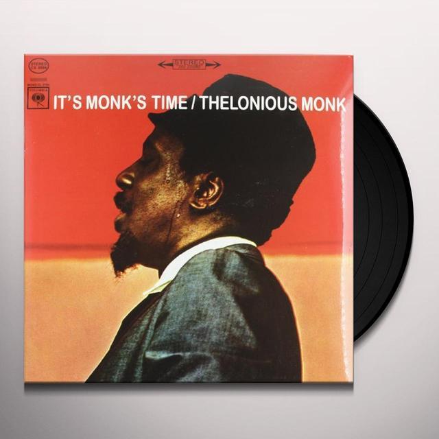 Thelonious Monk IT'S MONK'S TIME Vinyl Record - 180 Gram Pressing