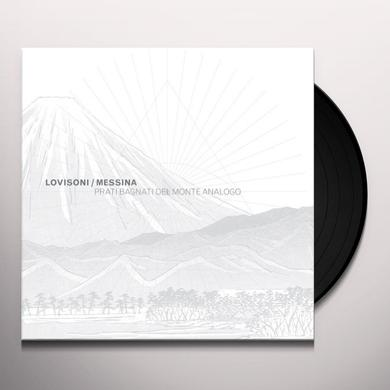 Raul Lovisoni / Francesco Messina PRATI BAGNATI DEL MONTE ANALOGO Vinyl Record