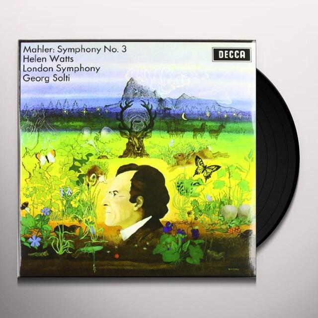 Mahler / Solti / London Symphony Orchestra SYMPHONY 3 Vinyl Record
