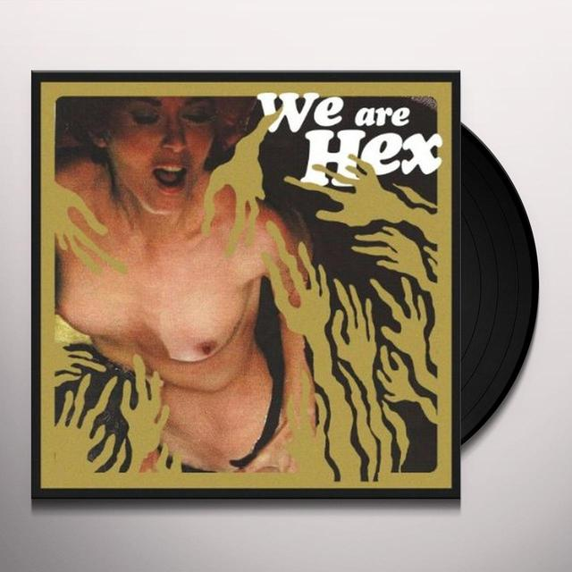 We Are Hex LUDE NEWDIE ANIMALS Vinyl Record