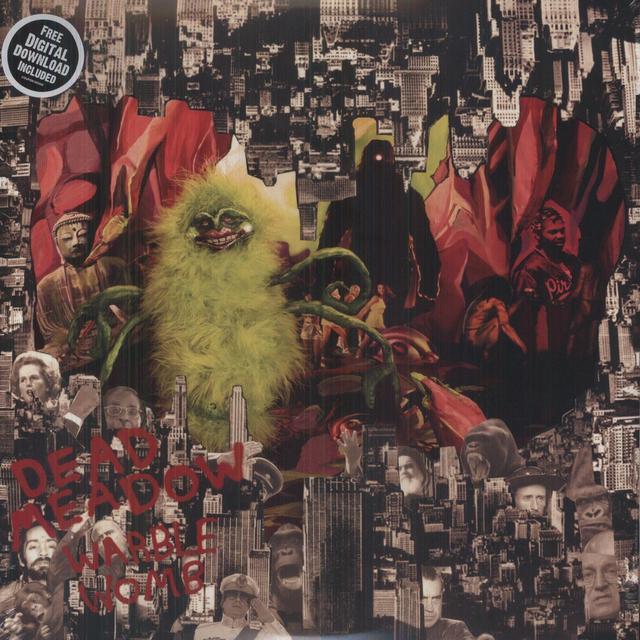 Dead Meadow WARBLE WOMB Vinyl Record