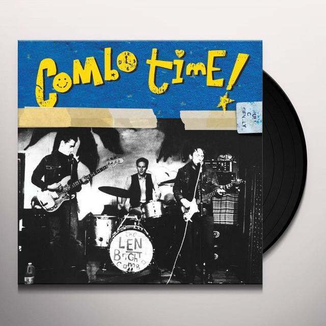 Len Bright Combo COMBO TIME Vinyl Record