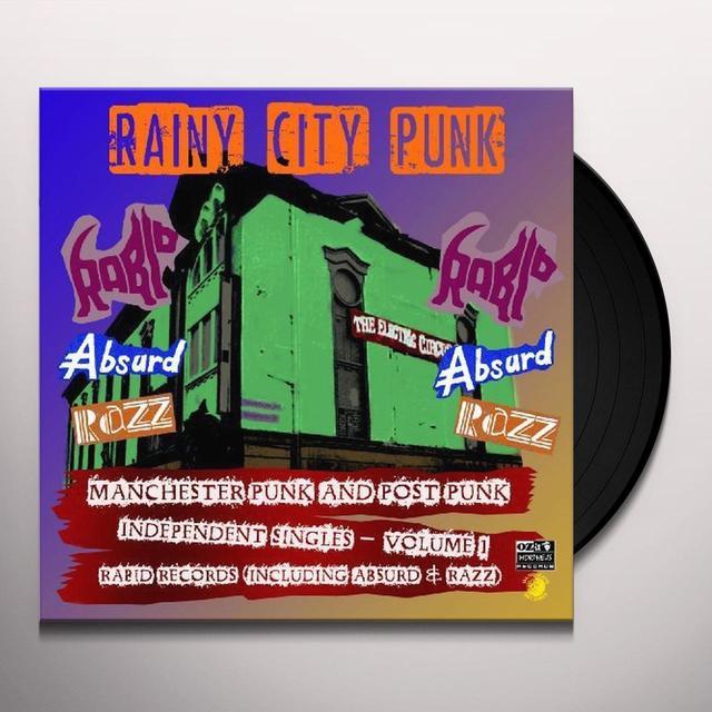 RAINY CITY PUNKS / VARIOUS Vinyl Record - 180 Gram Pressing