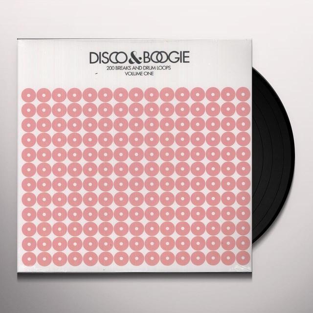 Disco & Boogie 200 BREAKS & DRUMS LOOPS 1 Vinyl Record