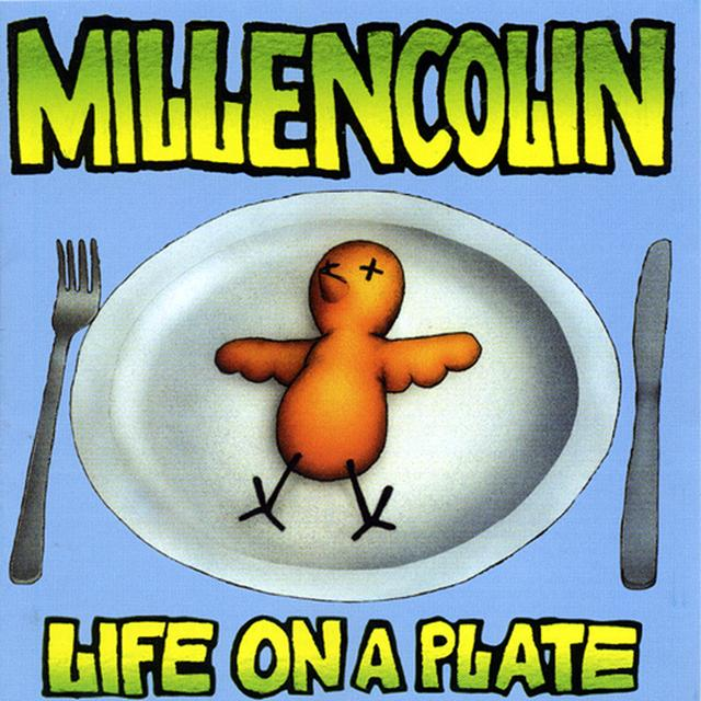 Millencolin LIFE ON A PLATE Vinyl Record - Colored Vinyl, Limited Edition, Reissue