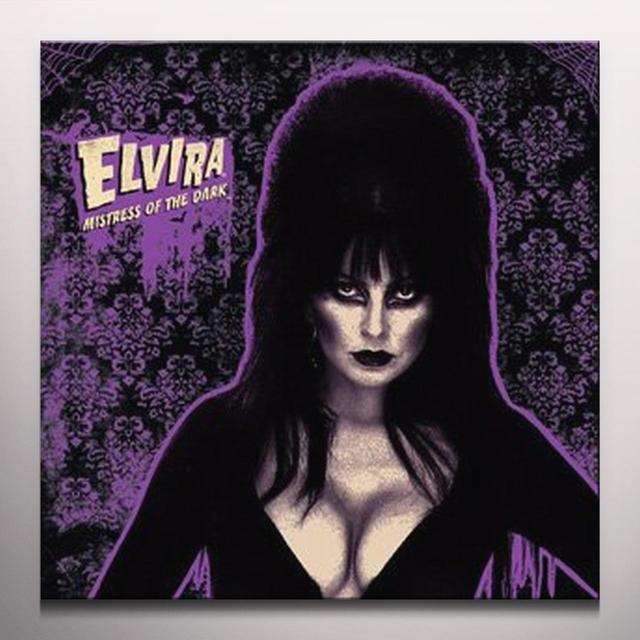 Elvira 2 BIG PUMPKINS / 13 NIGHTS OF HALLOWEEN Vinyl Record - Colored Vinyl