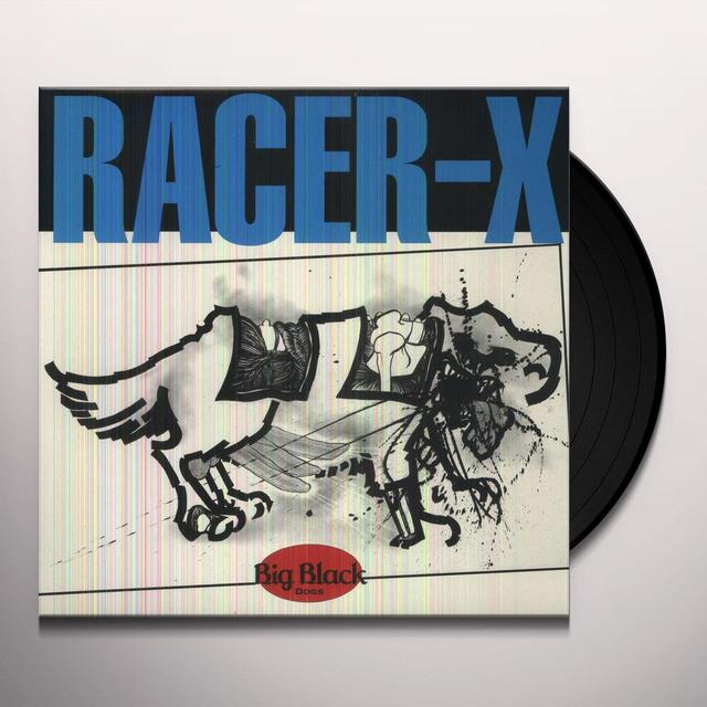 Big Black RACER-X Vinyl Record - Digital Download Included