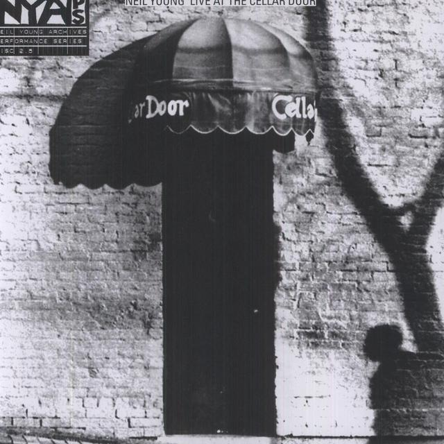 Neil Young LIVE AT THE CELLAR DOOR Vinyl Record