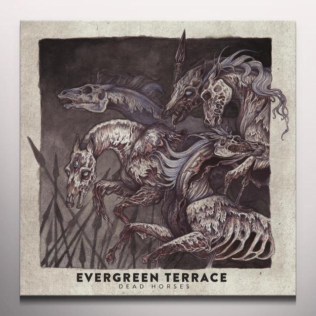 Evergreen Terrace DEAD HORSES Vinyl Record - w/CD, Colored Vinyl