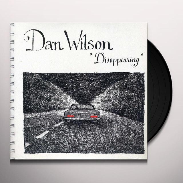 Dan Wilson DISAPPEARING Vinyl Record