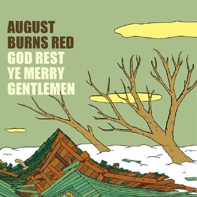 August Burns Red GOD REST YE MERRY GENTLEMEN Vinyl Record