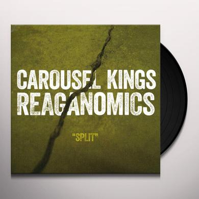 Carousel Kings / Reganomics SPLIT Vinyl Record