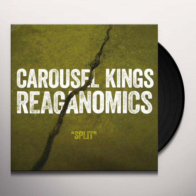 Carousel Kings / Reganomics SPLIT Vinyl Record