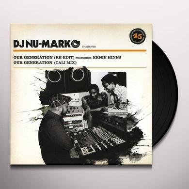 Dj Nu-Mark OUR GENERATION Vinyl Record
